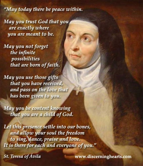 A Visit from St. Teresa of Avila