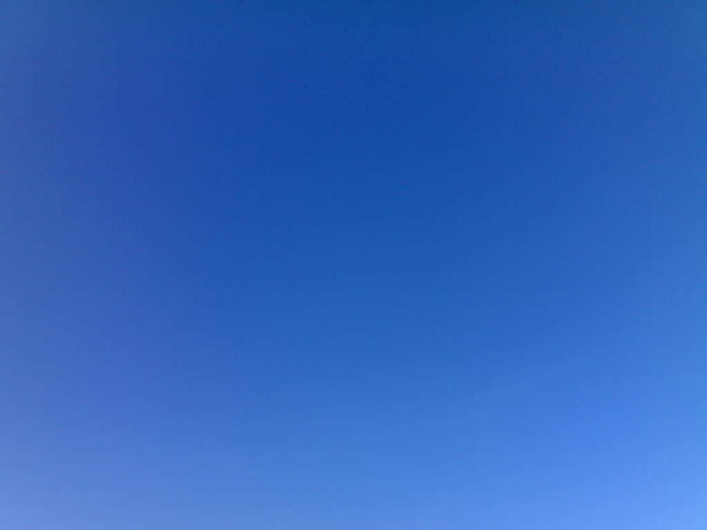 Cloudless Blue Sky